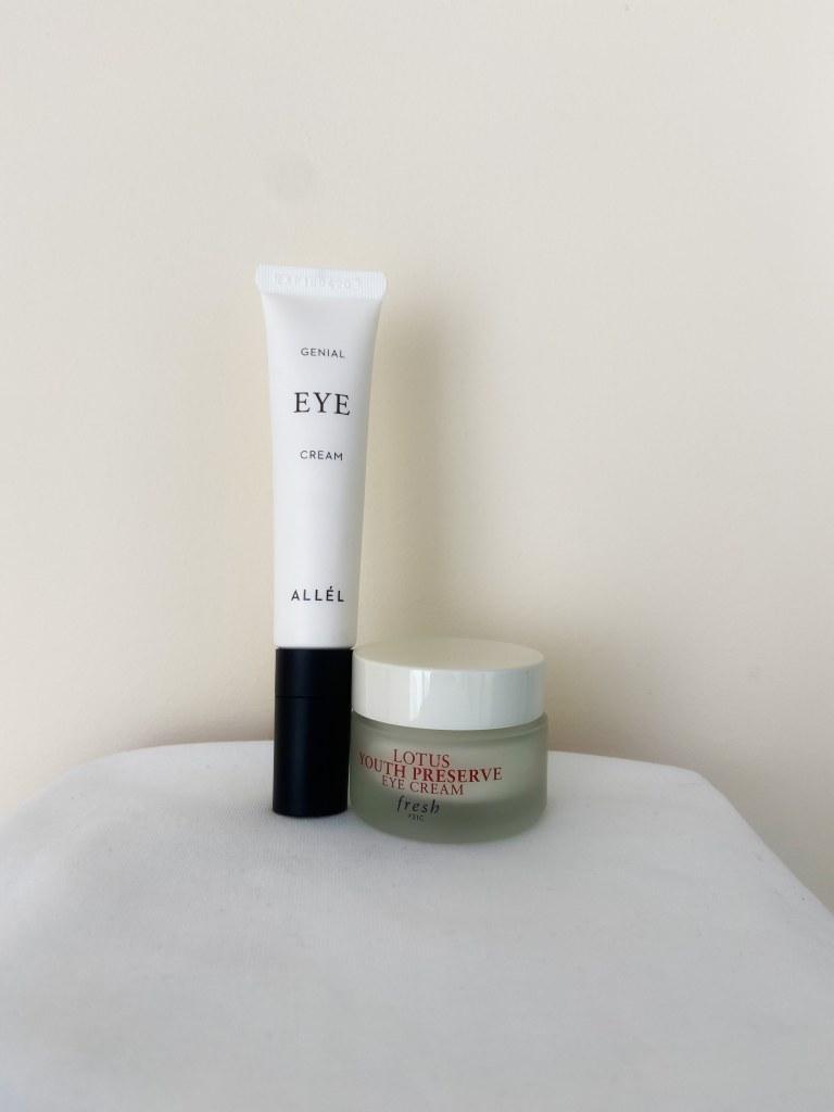 Genial Allel Eye Cream & Fresh Beauty Youth Preserve Eye Cream